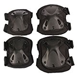 Airsoft Tactical genou réglable Elbow protection Pads Set Équipement de protection Sport Chasse Tir Pads