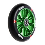 Anaquda engine forged scooter stunt wheel 110 mm, roulements à billes aBEC 9 vert