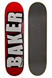 Baker - Skateboard Planche Seule Us Logo White - Taille:one Size