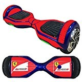 Balance Scooter/Hoverboard Ferrari autocollants