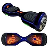Balance Scooter/Hoverboard Orage (1) autocollants