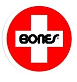Bones Swiss Bearings Skateboard Sticker - 8cm wide - Brand New skate board sk8 by Bones Wheels
