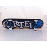 Cartel MKDCA7801 Skateboard Jaws Orange 31,5 cm