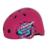 Casque TEMPISH Skillet rose - Taille S (51-55 cm) - rollers - skates - vélo - freestyle
