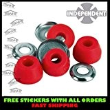 Independent Standard Soft Skateboard Bushings - Red