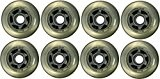 InLine Wheels - Blank 76 mm Clear Lot de 8