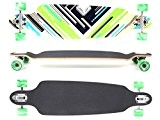 "MAXOfit® Deluxe Longboard ""Charisma Green No. 64"" Drop Through/ Drop Down"