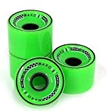 Maxofit ® Roulettes pour Longboard All Day fluo 70 mm x 55 mm
