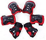 Meta-U 6 Pcs / Set Enfants Patinage de protection GEAR-2 coudières+2 Wrist Pad+2 Knee Pads
