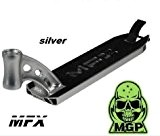 MGP Madd Gear MFX Deck 2014pour trottinette Integrated Argent