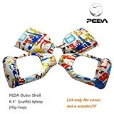 "PEDA New 6.5 ""Two Smart Wheel Self Scooter Balancing électrique 2 roues de rechange Case Outer Shell DIY Accessoires (Graffiti ..."