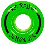 Rio Roller Coaster Wheels x4 Green 58mm