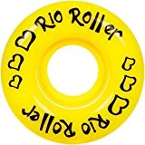 Rio Roller Coaster Wheels x4 Yellow 58mm
