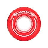 Rookie All Star Quad Wheels x4 Red/White 58mm
