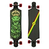 "Santa cruz longboard lion god drop thru tie dye 10.0 ""x 40.0 sANLOBLIGODTTD"