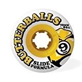 Sector 9 Slide Butterballs 80a 70mm Skate Wheels by Sector 9