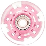 Sfr Light Up Wheels x4 Pink 57mm
