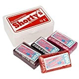 Shorty's Pack de 4 Waxs