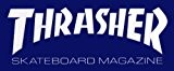 Sticker Thrasher Magazine Skateboard bleu taille L Logo - New Skate Board Patinage Sk8 Punk