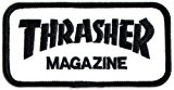 Thrasher Magazine Punk Rock Musique Skateboard Patch - Fer/à coudre New
