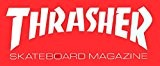 Thrasher Magazine Skateboard autocollant-Largeur :  15 cm-Medium :  environ Rouge sk8-Neuf