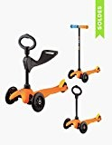 Trottinette Mini Micro Sporty 3-en-1 - Orange Pop