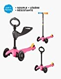 Trottinette Mini Micro Sporty 3-en-1 - Rose Pop