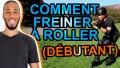 COMMENT FREINER EN ROLLER - DÉBUTANT