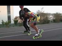 Transformer la poussée en vitesse | Tuto roller
