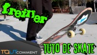 Apprendre à freiner en skateboard - Tuto pour débutants