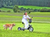 Scooter 3 roues / Tricycle électrique
